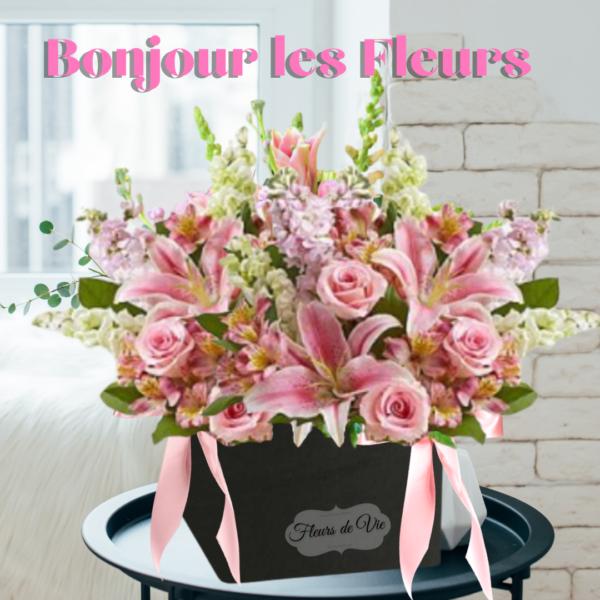 """""""bonjour les fleurs'"""