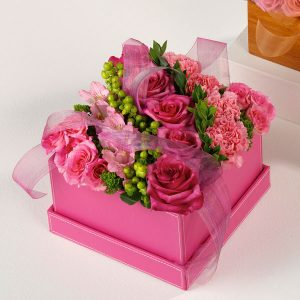 """""""boxed blooms of roses"""""""