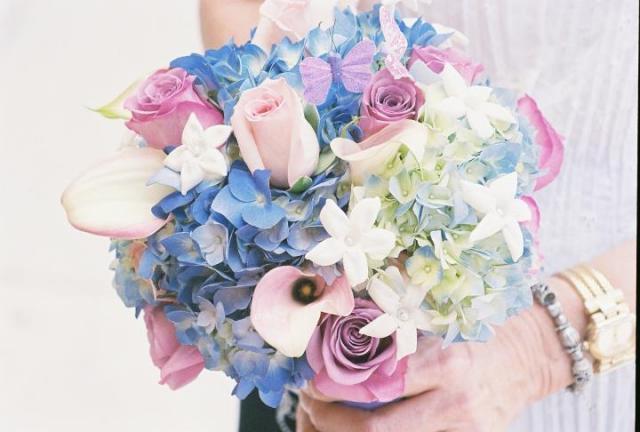 """""""Bridesmaids Soft Pastels Blues"""""""