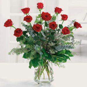 """""""Dozen Contemporary Roses"""""""