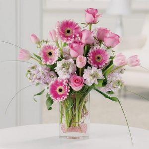 """""""Spring Roses Gerberas and More"""""""