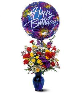 """""""Fireworks Birthday Bouquet"""""""