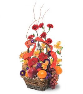 """""""fresh fruit and flowers"""""""