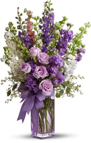 """Pretty in Purple Bouquet"""