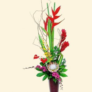 """""""Tropical Beauty Ginger, protea and more"""""""