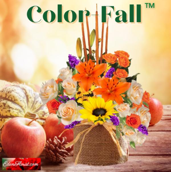 """color fall bouquet"""