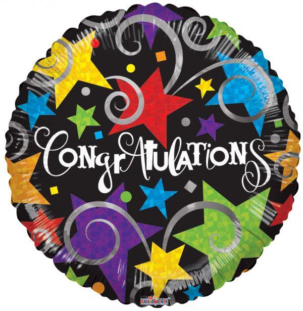 """congratulations mylar balloon"""