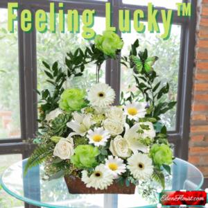 """feeling lucky bouquet"""