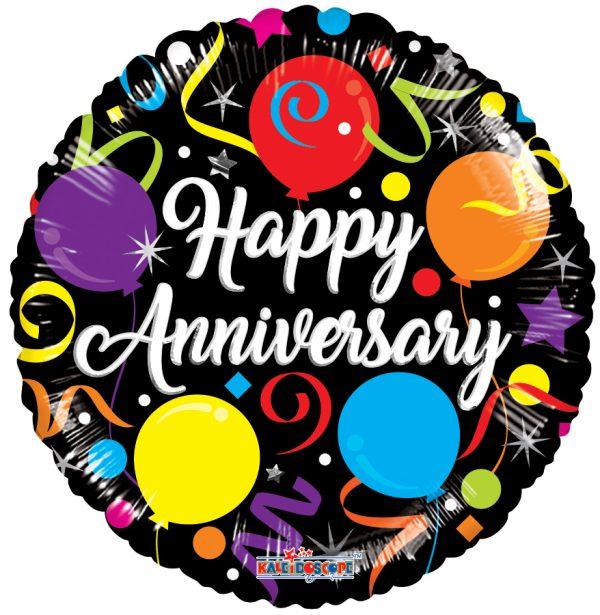 """happy anniversary mylar balloons"""
