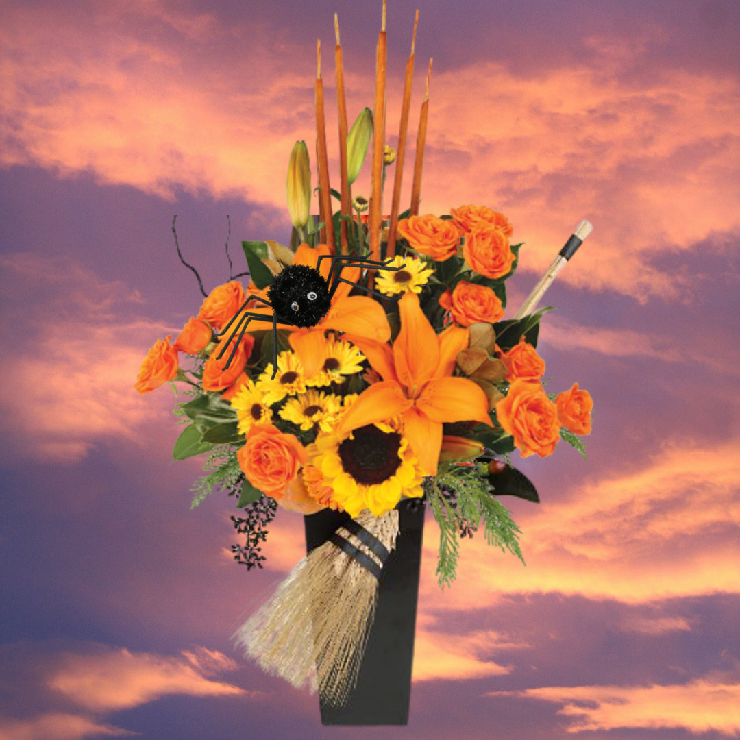 """Hocus Pocus Halloween Flowers"""
