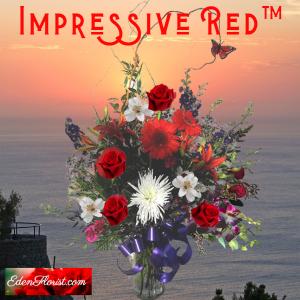 """Impressive Red Bouquet"""
