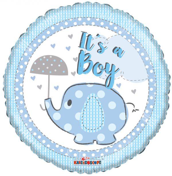 """its a boy mylar balloon"""