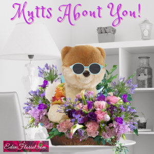 """""""mutts about you Bouquet"""""""