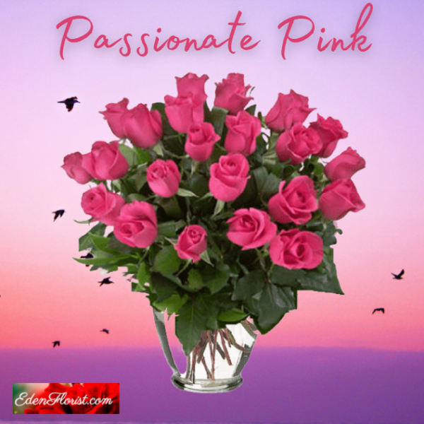 """""""Passionate pink roses"""""""