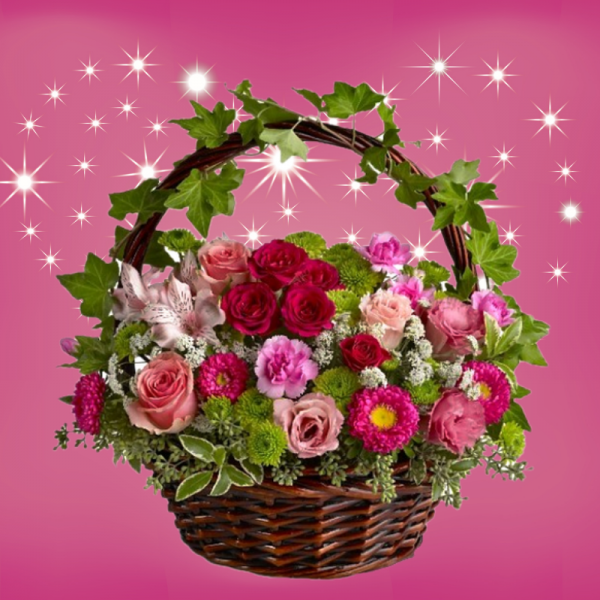 """Romance in a Basket"""