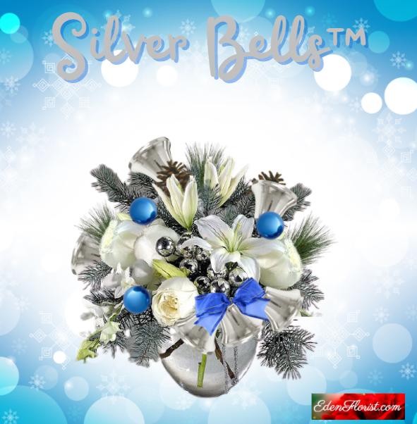 """""""silver bells bouquet"""""""