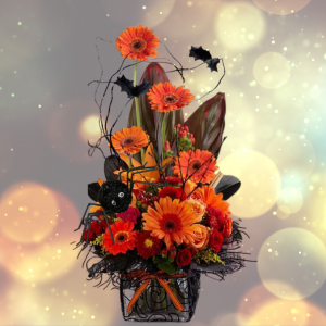 """""""spellbound halloween flowers"""""""