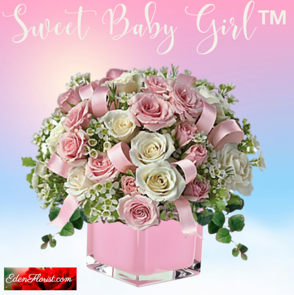 """Sweet Baby Girl Bouquet"""