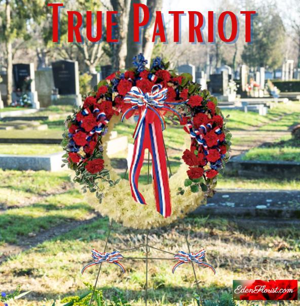 """""""True Patriot Wreath"""""""