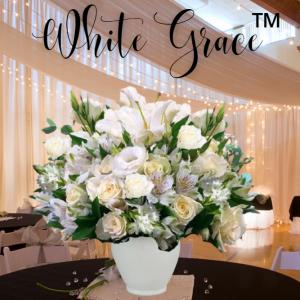 """""""white grace bouquet"""""""
