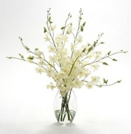 """""""white Orchids in a Vase"""""""