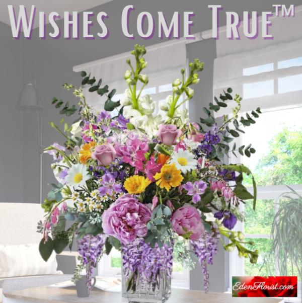 """wishes come true bouquet"""